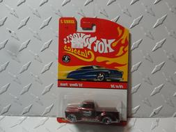 classics series 3 6 red 52 chevy