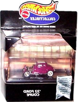 HOT WHEELS COLLECTIBLES '32 FORD COUPE