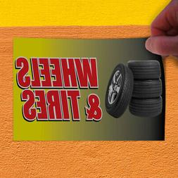Decal Sticker Wheels &Tires Auto Car Vehicle Automotive Whee