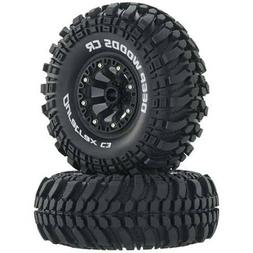 DuraTrax Deep Woods 2.2 Inch RC Rock Crawler Tires with Foam