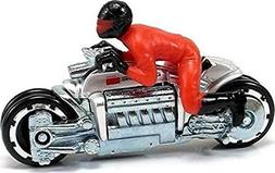 Hot Wheels Dodge Tomahawk City Motorcycle w/ Rider Chrome 1: