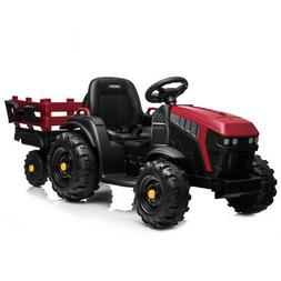 Electric 12V Kids Ride On Tractor Car Toys Battery Wheels Mu