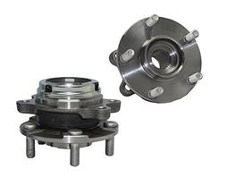 Detroit Axle Front Wheel Hub and Bearing Assembly - Driver a