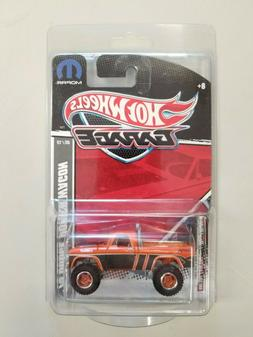 HOT WHEELS GARAGE 70 DODGE POWER WAGON OFF ROAD TRUCK REAL R