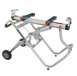 Gravity Rise Miter Saw Stand with Wheels Bosch