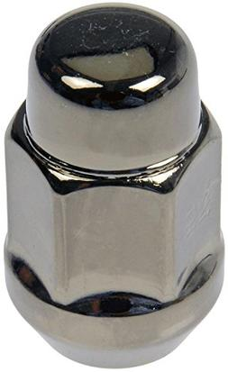Dorman 711-335H Pack of 16 GunMetal Wheel Nuts and 4 Lock Nu