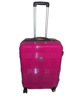 Hard Case Rolling Spinner Luggage Poly carbonate Travel Whee