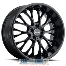 Helo HE890 Satin Black Wheel