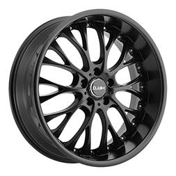 Helo HE890 Satin Black Wheel with Painted Finish