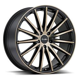 Helo HE894 Satin Black Wheel with Painted Finish and Machine