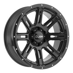 Helo HE900 20x10 Black Wheel / Rim 5x5.5 with a -24mm Offset