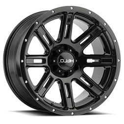 Helo HE900 20x9 Black Wheel / Rim 5x150 with a 0mm Offset an