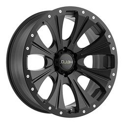 Helo HE901 20x9 Black Wheel / Rim 5x5.5 with a -12mm Offset