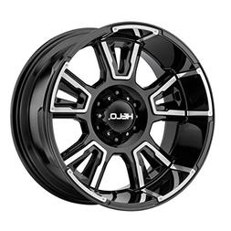 Helo HE914 20x9 8x165.1  +0mm Black/Machined Wheel Rim