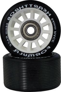 PACER HEART THROB REPLACEMENT SKATE WHEELS WITH BEARINGS ABE