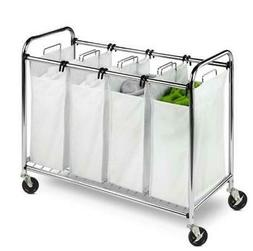 Honey Can Do Heavy Duty Quad Sorter, Chrome