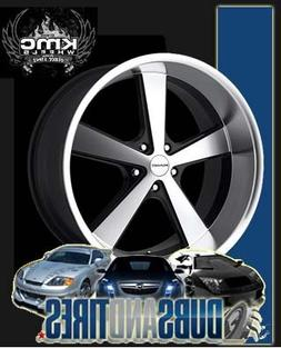 American Racing Hot Rod Nova Gloss Black Wheel with Machined