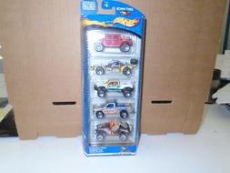 Hot Wheels 5 off road vehicle Gift Pack Mattel Wheels FREE S