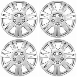 OxGord Hubcaps for 15 inch Standard Steel Wheels  Wheel Cove
