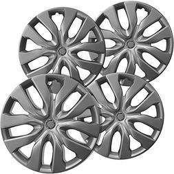 OxGord Hubcaps for 17 inch Standard Steel Wheels  Wheel Cove