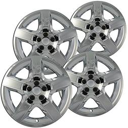 OxGord Hubcaps for 17 Inch Wheels  Wheel Covers - Chrome