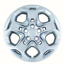 "Hubcaps for Ford Fusion 2010-2012 Set of 4 Pack 17"" Inch Sil"