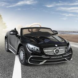 Kids Mercedes Benz S650 Ride On Car Electric 12V Wheels Remo