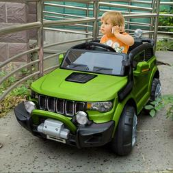 Kids Ride On Car Jeep 12V Electric Wheels Remote Control MP3