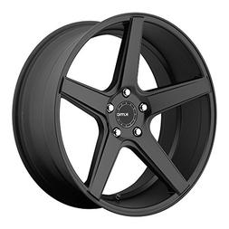 KMC Wheels KM685 District Satin Black Wheel