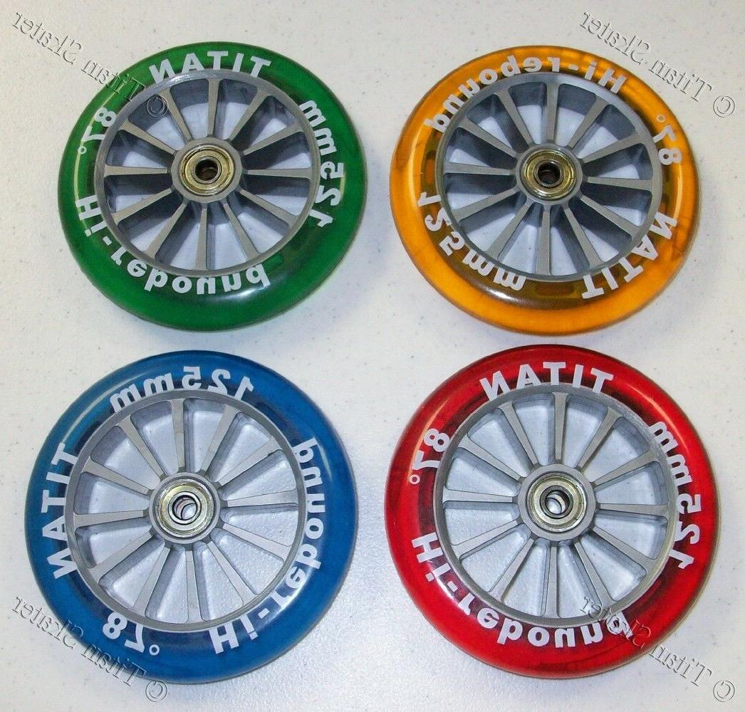 125mm replacement wheel fits yvolution y fliker