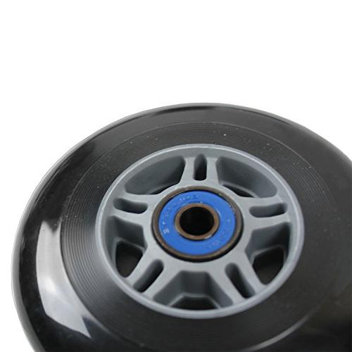 2 100mm WHEELS RAZOR SCOOTER