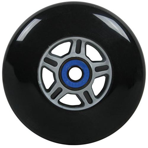 2 100mm BLACK WHEELS RAZOR
