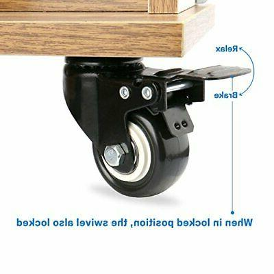 "2"" Swivel Caster with Safety and Foam No Noise"
