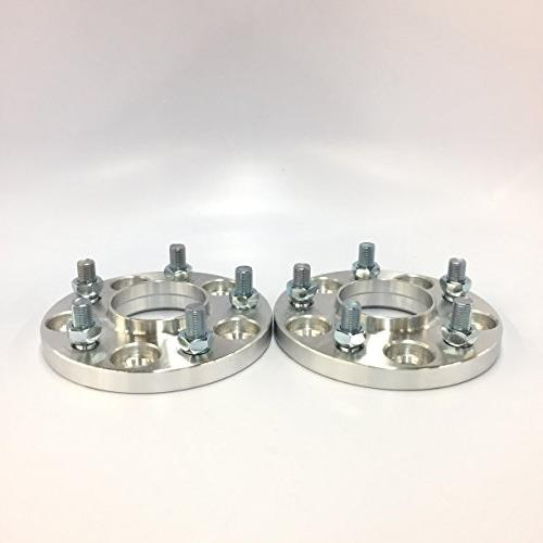 Customadeonly 5x114.3 12x1.25 Studs Centric Wheel Spacers for Infiniti G37, Nissan 240sx 350z