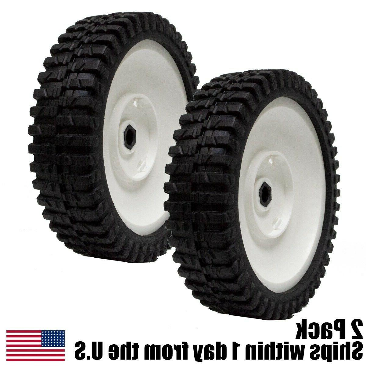 2pk lawn mower front drive wheels 180773