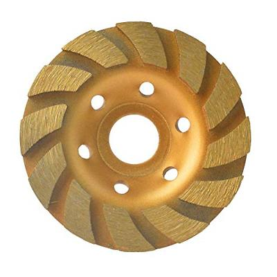 4 concrete turbo diamond grinding disc wheel