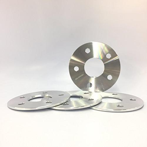 4pc 5mm 3 16 wheel spacers 5x108