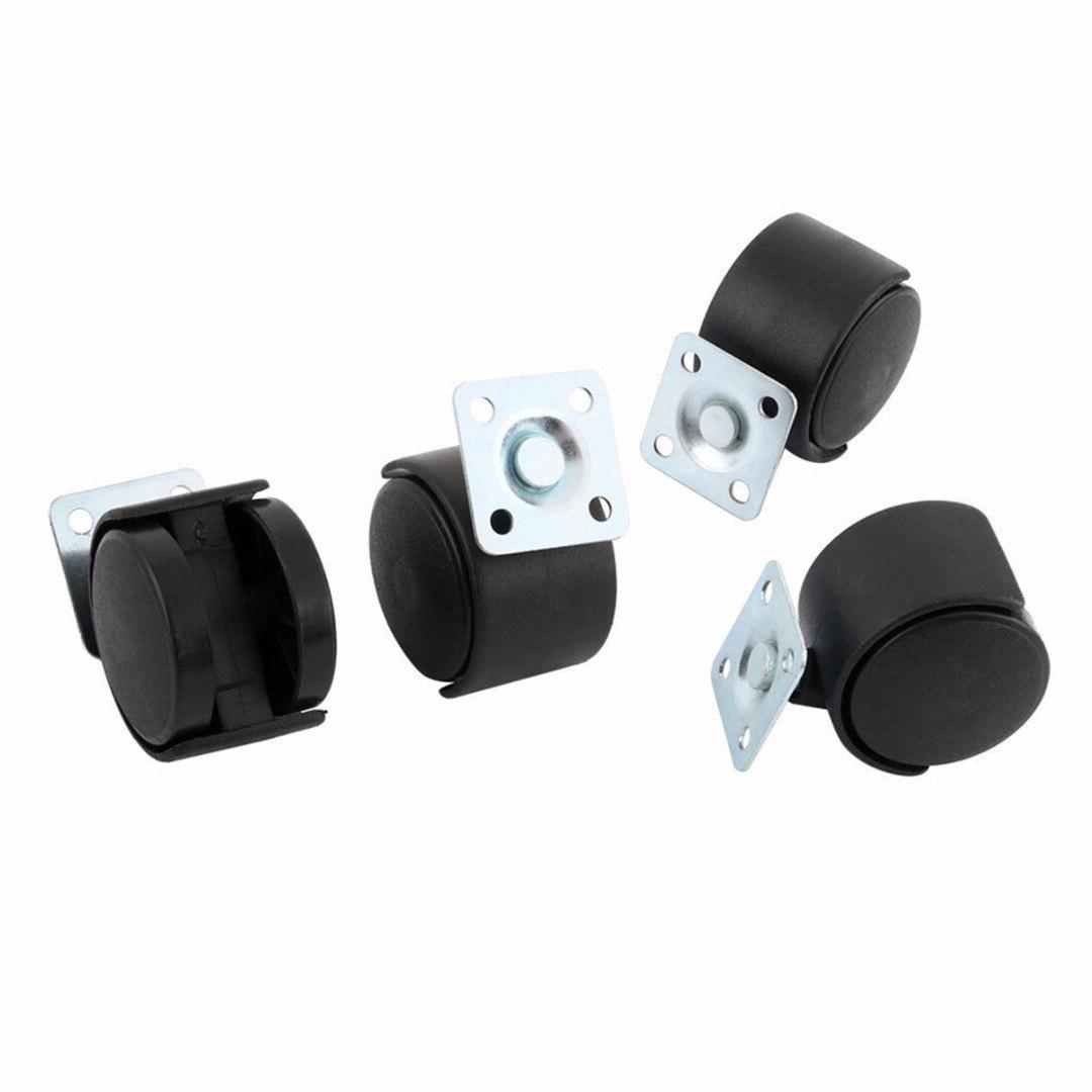 4pcs Caster Nylon Chair Table Replacement <font><b>Hardware</b></font> For Furniture Mayitr