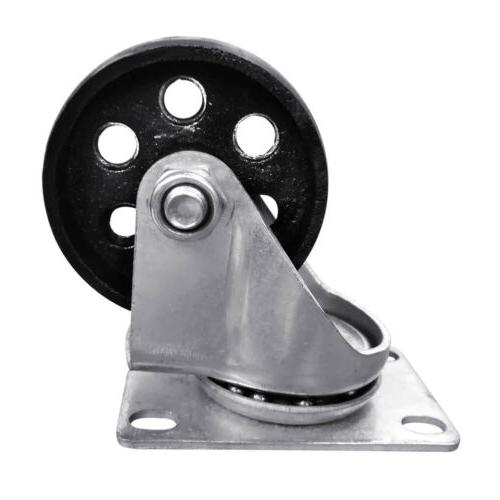 "4pcs Iron Plate 3"" Heavy Duty Capacity"