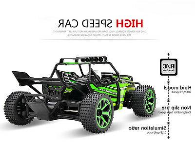 2.4Ghz High 1/18 Electric Off Road Truck Buggy Vehicle Green