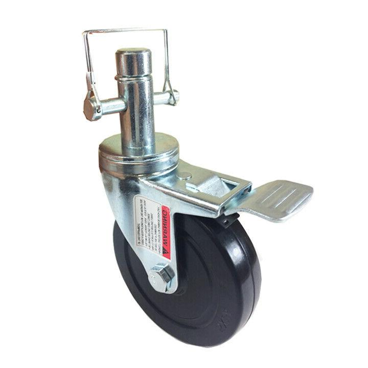 5 scaffold rolling tower caster 1 inch