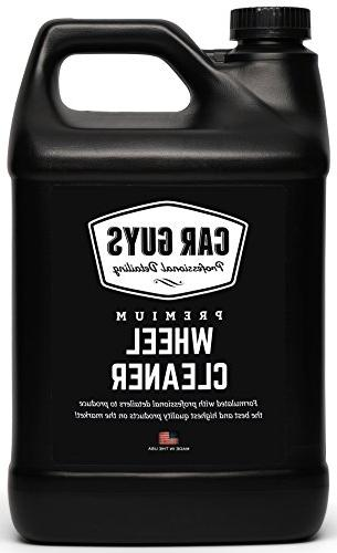 Wheel Cleaner 1 Gallon Bulk Refill - Safe for all Wheels Tir