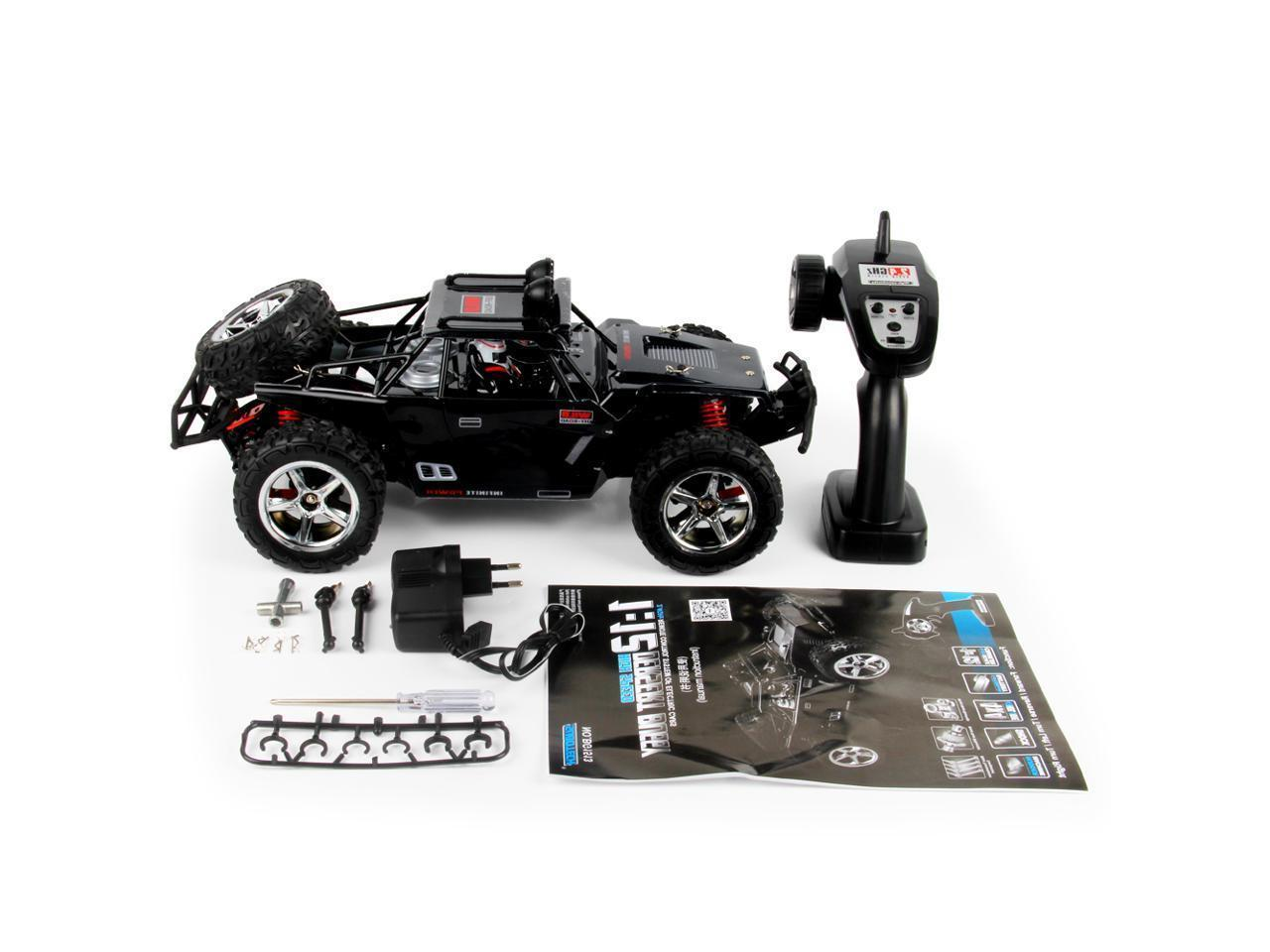 Subotech 1:12 Scale 2.4G Off-road - Black