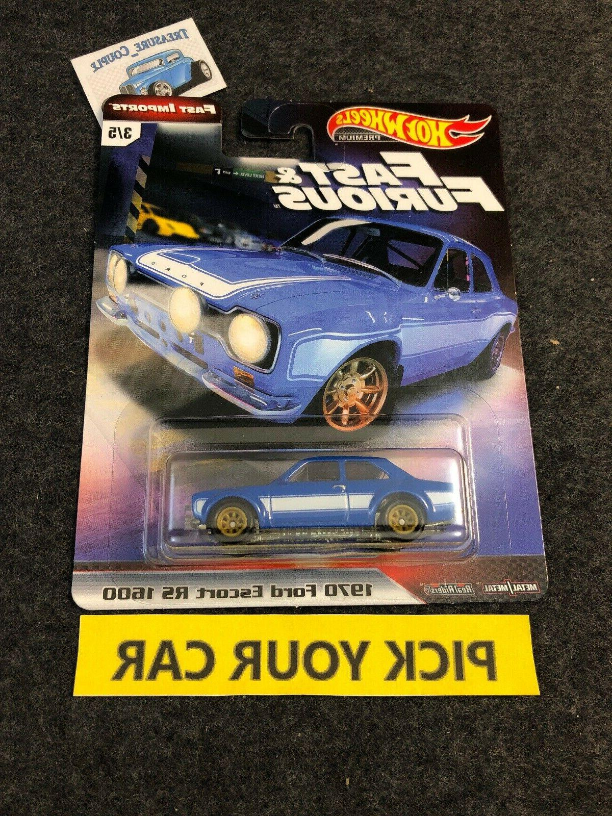 Hot Wheels Culture Singles-Pick - Fast and Furious F9