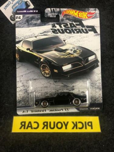 Hot Wheels Singles-Pick your - and Furious F9