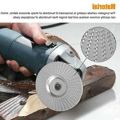 Carbide Wood Sanding Shaping Disc For Angle Grinder/Grinding