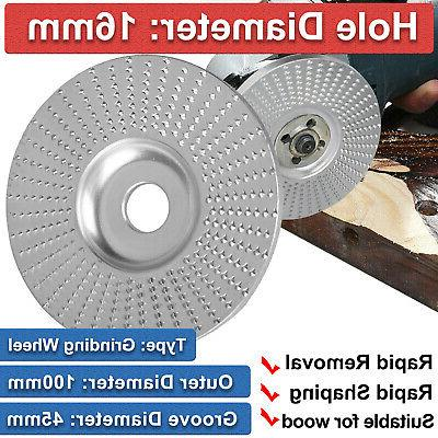 carbide wood sanding carving shaping disc