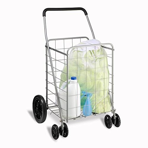 Honey-Can-Do CRT-01640 Grocery Cart, Front Utility