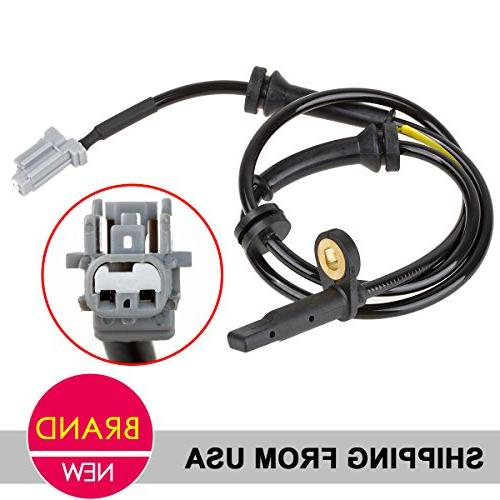AUTEX Front Left Wheel Speed Sensor compatible with 2008 2010 Nissan Rogue 2.5L FWD