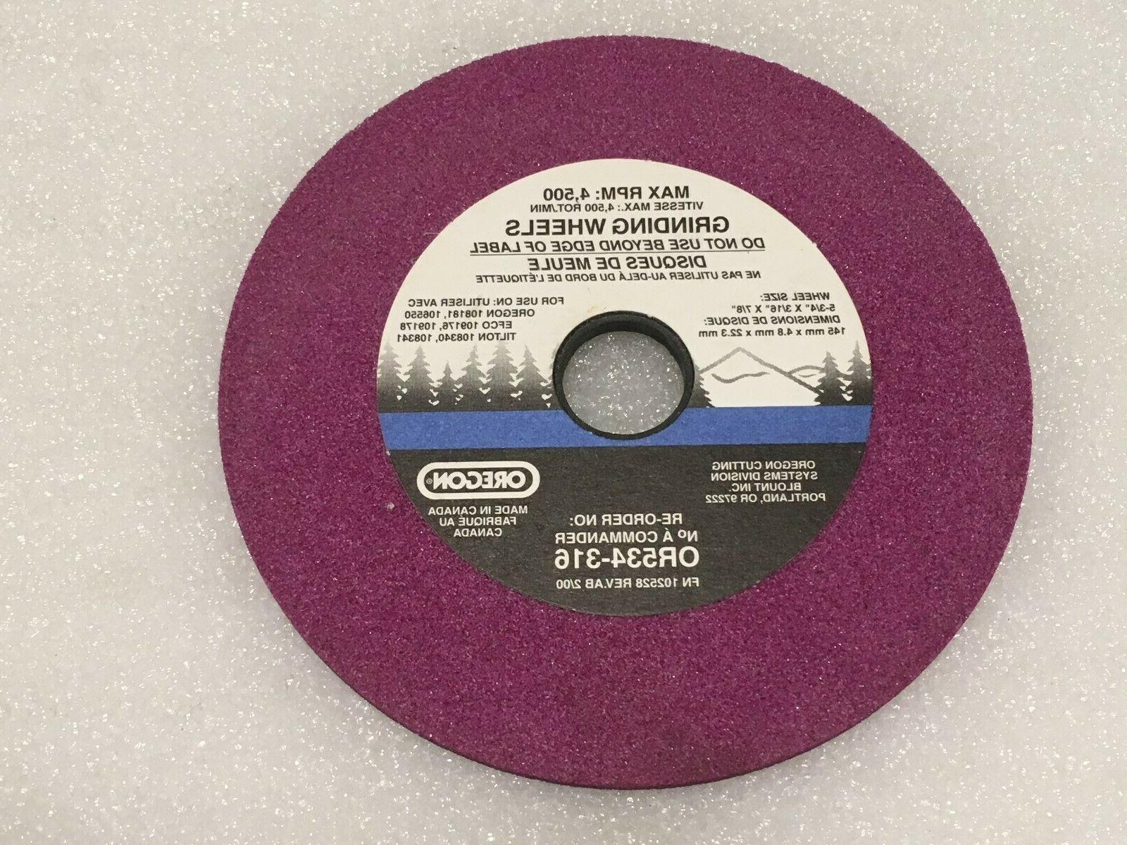 grinding wheel part or534 316 3 16